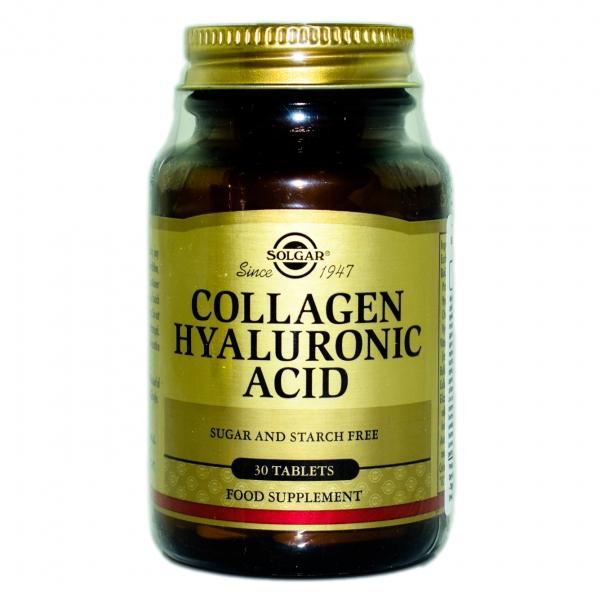 Complex de Acid Hialuronic, 30 tablete, Solgar 0