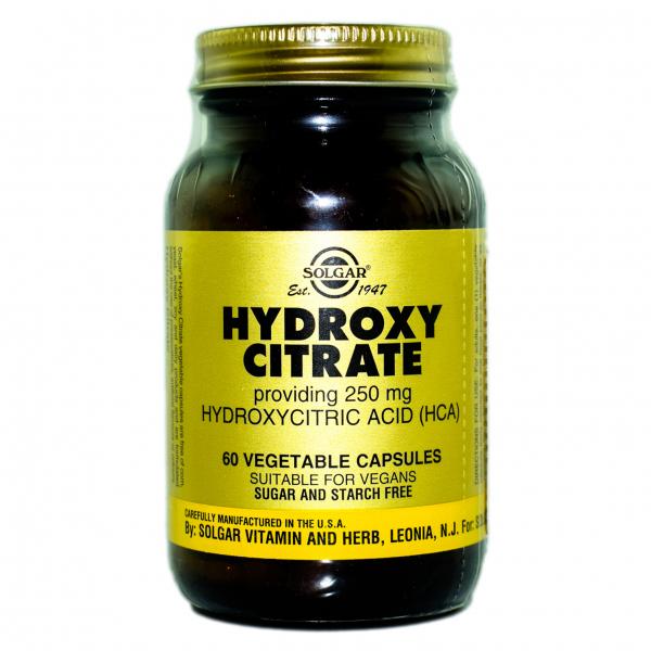 Hydroxy Citrate 250 mg, 60 capsule, Solgar 0