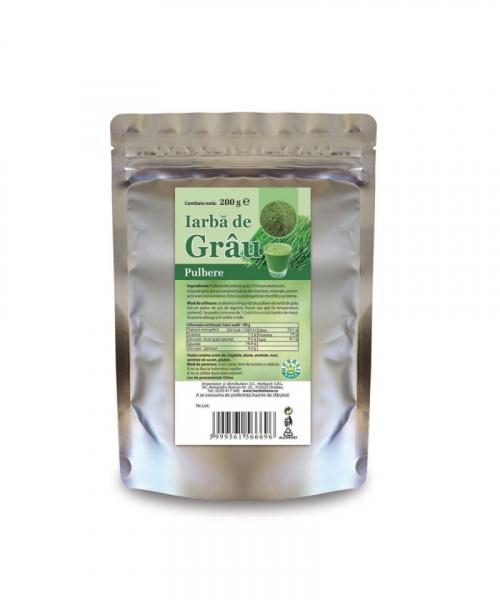 Iarba de grau pulbere, 200 g, Herbavit 0