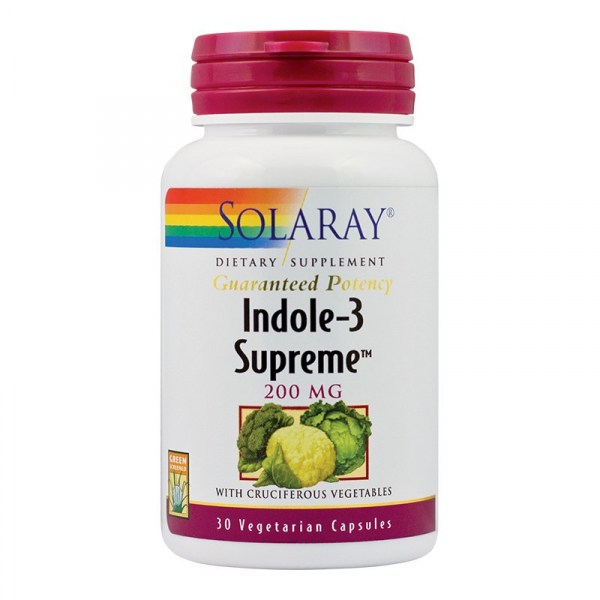 Indole Suprem Solaray, 30 capsule, Secom 0