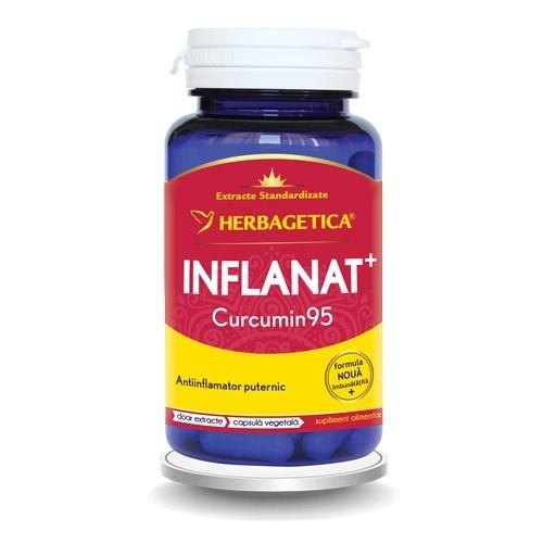 Inflanat+ curcumin 95, 60 capsule, Herbagetica 0
