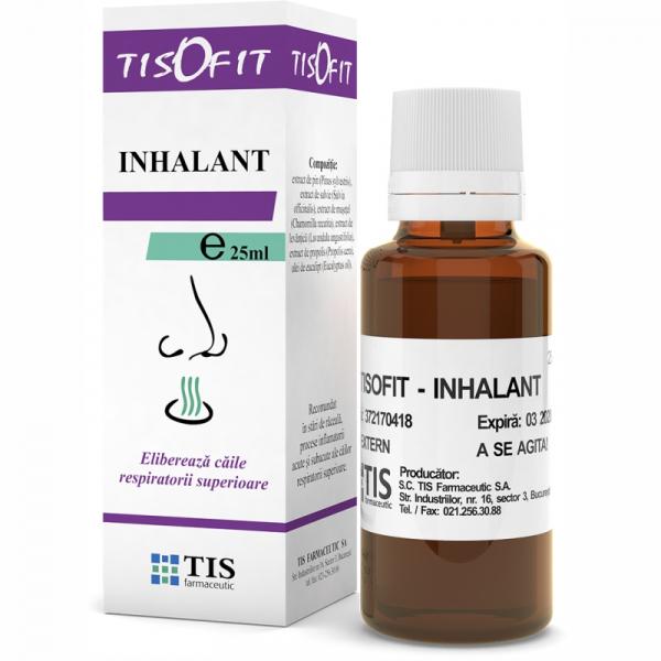 Inhalant Tisofit, 25 ml, Tis Farmaceutic [0]