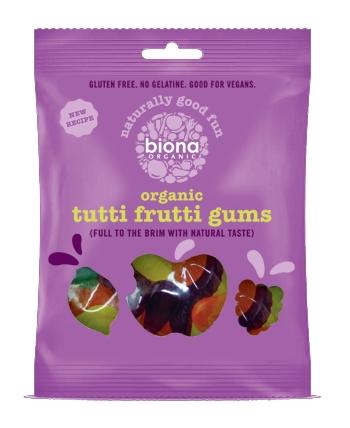 Jeleuri Tutti Frutti bio 75g 0