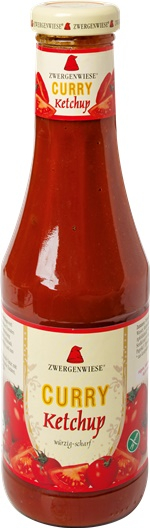 Ketchup bio curry 0