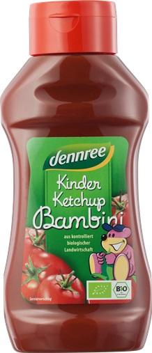 Ketchup pentru copii Indulcit cu nectar de agave 0