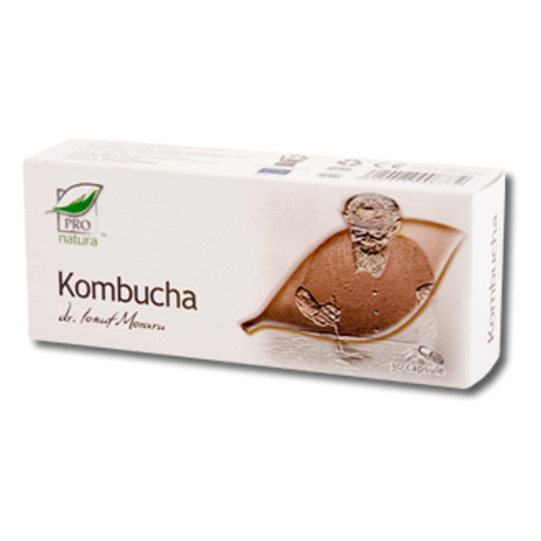 Kombucha, 30 capsule, Medica 0