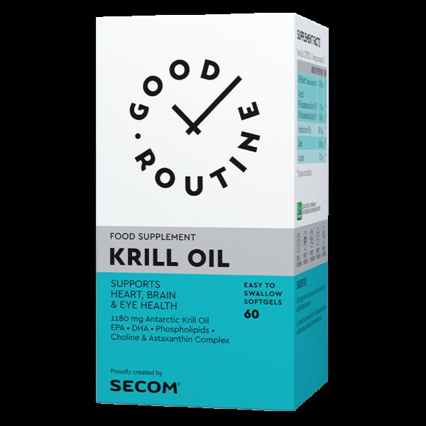 Krill oil, 60 capsule, SECOM GOOD ROUTINE 0