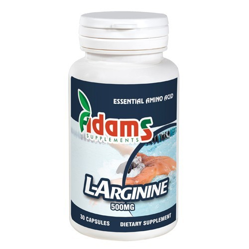 L-Arginine 500mg, 30 tablete, Adams Vision 0