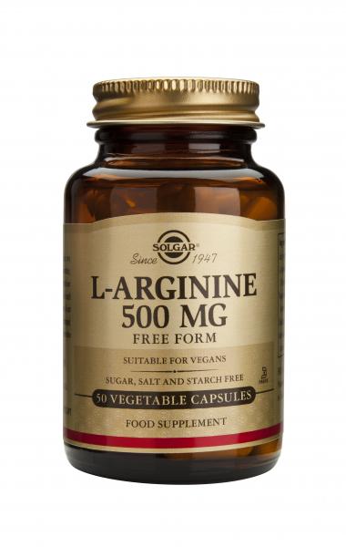 L-Arginine 500mg veg.caps 50cps SOLGAR 0