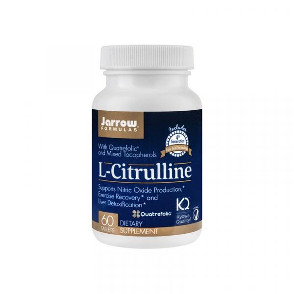 L-Citrulline Jarrow Formulas, 60 tablete, Secom [0]