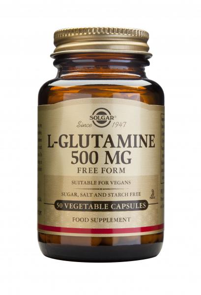 L-Glutamina 500mg veg.50cps Solgar 0