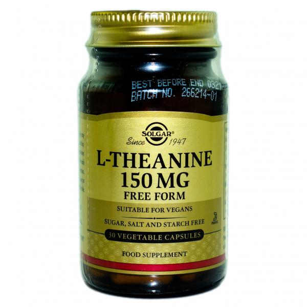 L-Teanină 150 mg, 30 capsule, Solgar 0