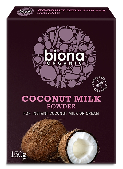 Lapte de cocos praf bio 150g Biona 0