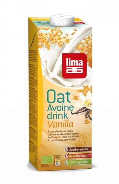 Lapte de ovaz cu vanilie bio 1L 0