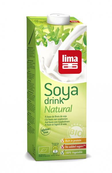 Bautura vegetala de soia eco 1L Lima 0