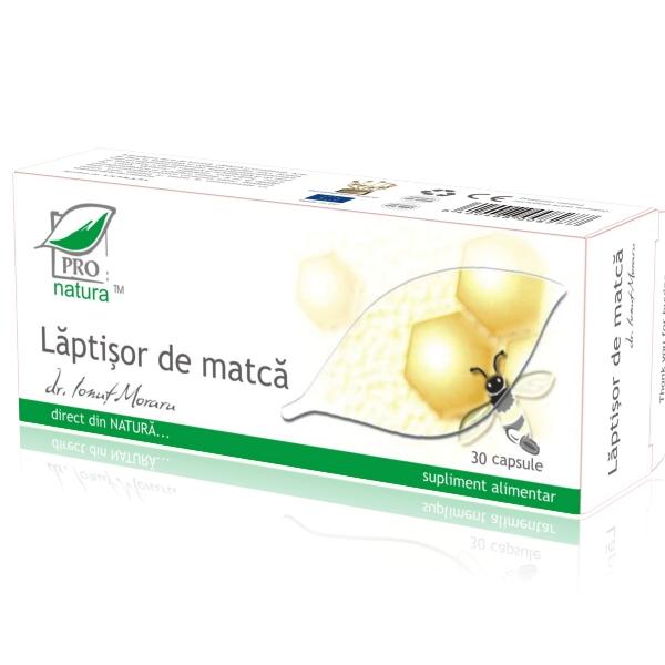 Laptisor de Matca, 30 capsule, Medica 0