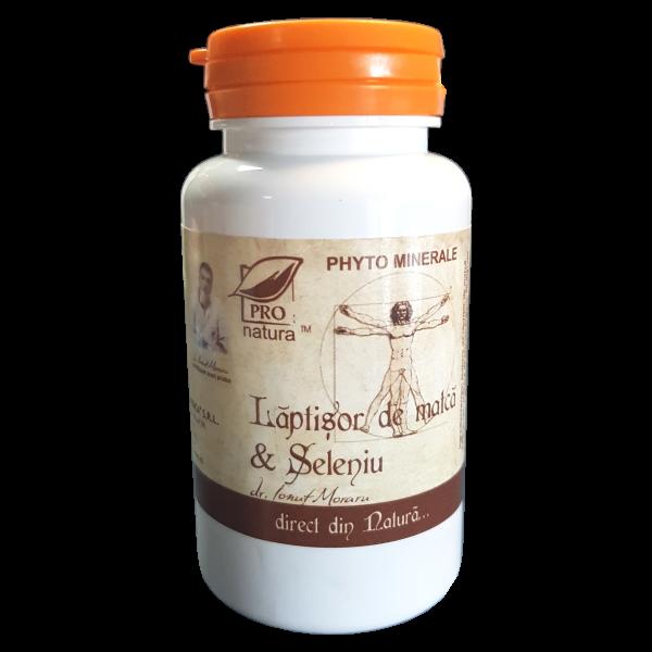 Laptisor de matca+seleniu, 60 capsule, Medica 0