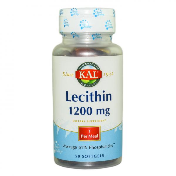 Lecithin 1200mg Kal, 50 comprimate, Secom 0