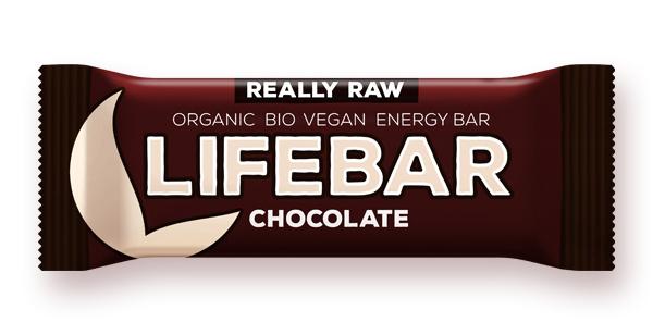 Lifebar baton cu ciocolata raw bio 47g 0