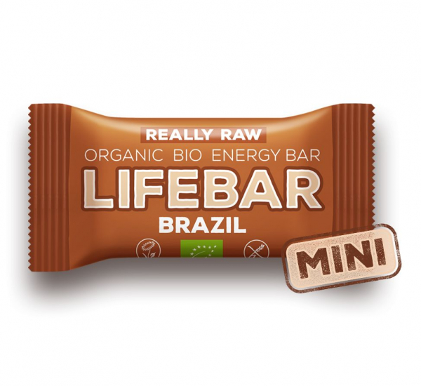 Lifebar baton cu nuci braziliene raw bio 25g 0