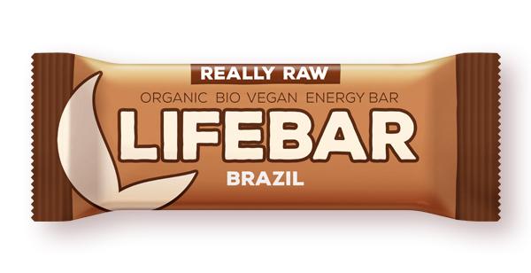 Lifebar baton cu nuci braziliene raw bio 47g 0