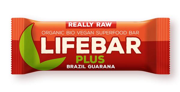 Lifebar plus baton cu guarana si nuci braziliene eco 47g 0