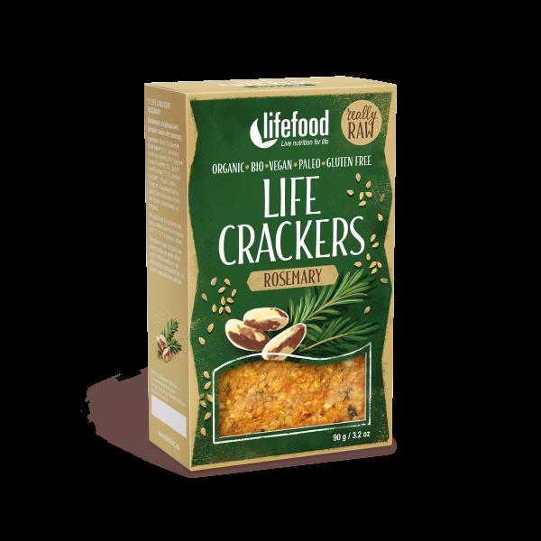 Lifecrackers cu rozmarin raw bio 90g 0