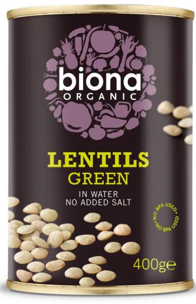 Linte verde bio 400g Biona 0