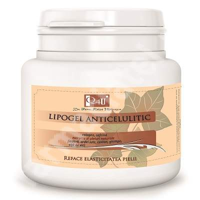 Lipogel Anticelulitic, 500 ml, Tis Farmaceutic 0