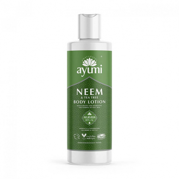 Lotiune de corp cu Neem Tea Tree, Ayumi, 250 ml [1]