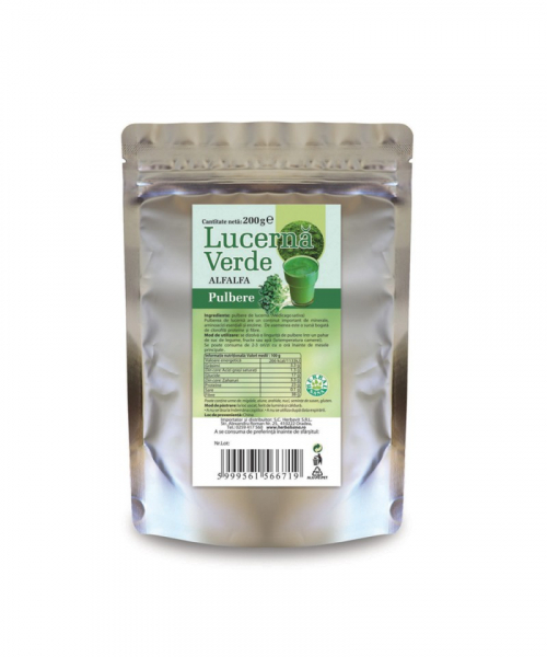 Lucerna verde, 200g, Herbavit 0