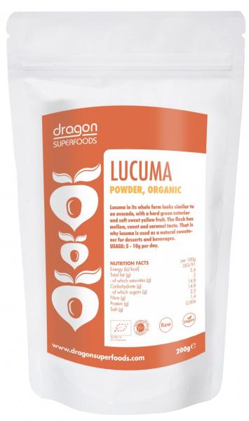 Lucuma pulbere raw bio 200g 0