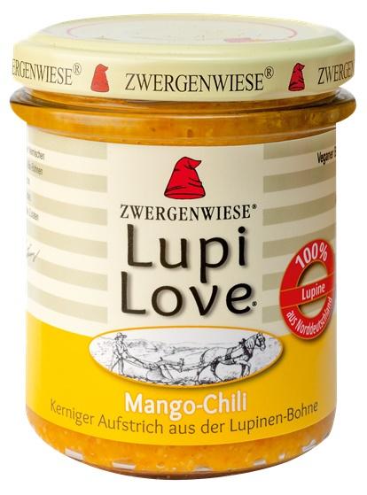 Lupi Love crema tartinabila din lupin cu mango si chilli 0