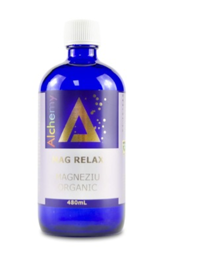 Magneziu ionic organic, Mag Relax, Alchemy, 480mL, Aghoras Invent 0