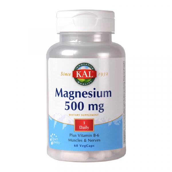 Magneziu 500mg Kal, 60 capsule, Secom 0