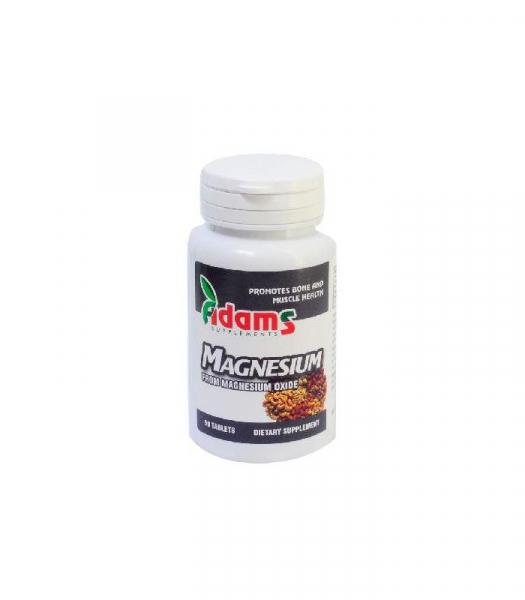 Magnesium 375mg, 90 tablete, Adams Vision 0