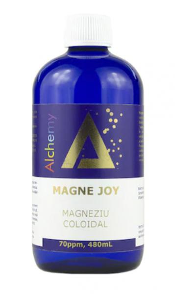 Magneziu coloidal Magne Joy 70ppm, Pure Alchemy 480 ml, Aghoras Invent 0