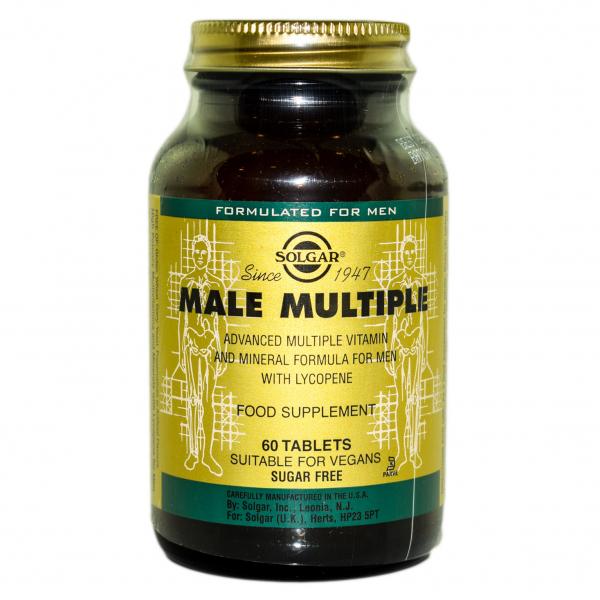 Male Multiple, 60 tablete, Solgar 0