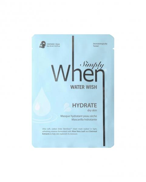 Masca hidratanta pentru ten uscat, Water Wish, 23 ml, Simply When 0