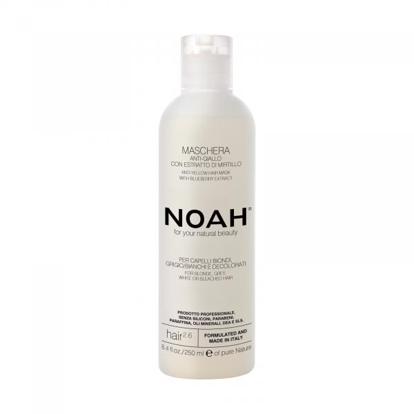 Masca naturala Anti-Yellow cu extract de affine, 2.6, Noah, 250 ml 0