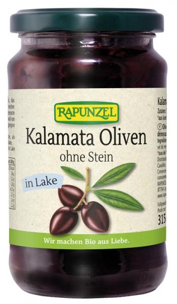 Masline bio Kalamata, violet, fără sâmburi, în saramură [0]