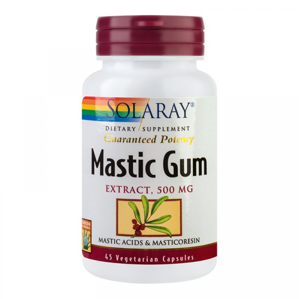Mastic Gum 500 mg Solaray, 45 capsule, Secom 0