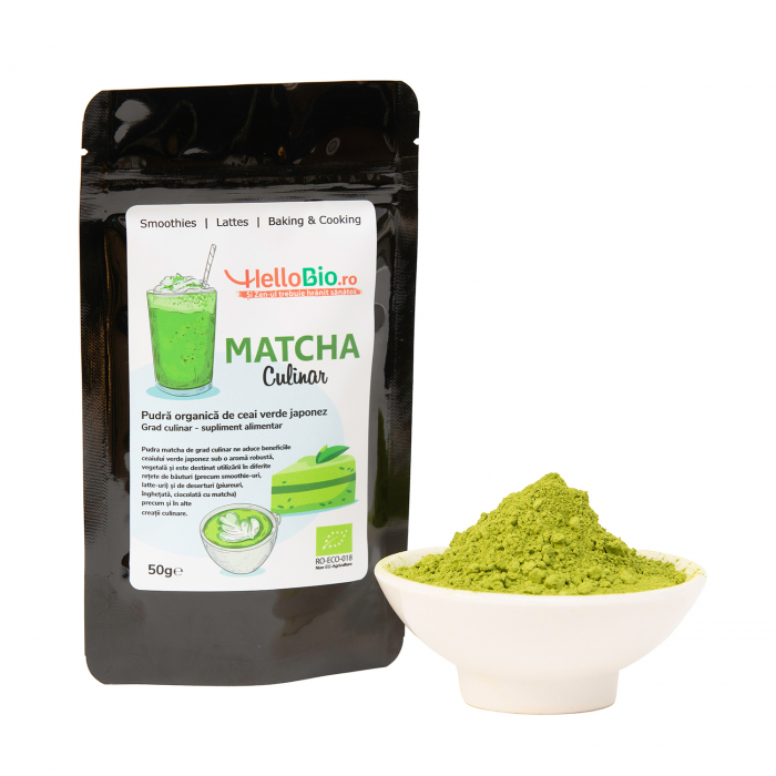Matcha Bio Culinar - punga 50 g [1]