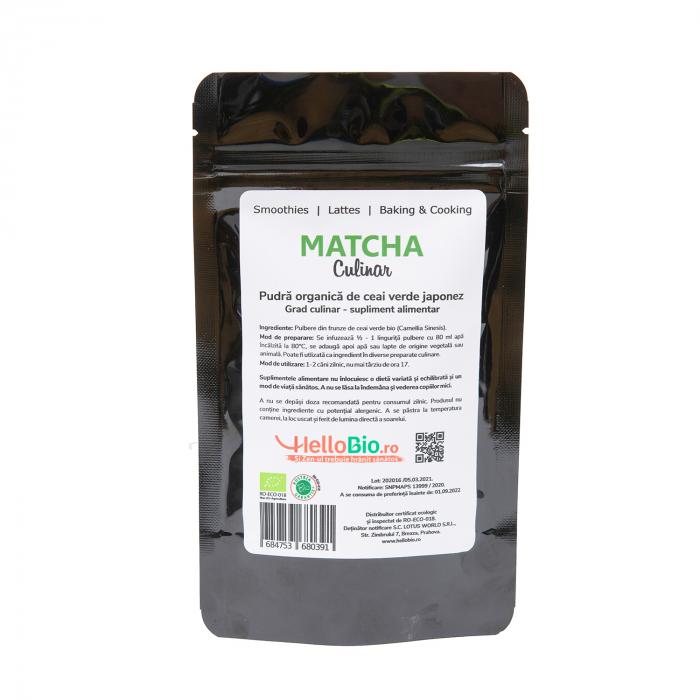 Matcha Bio Culinar - punga 50 g [3]