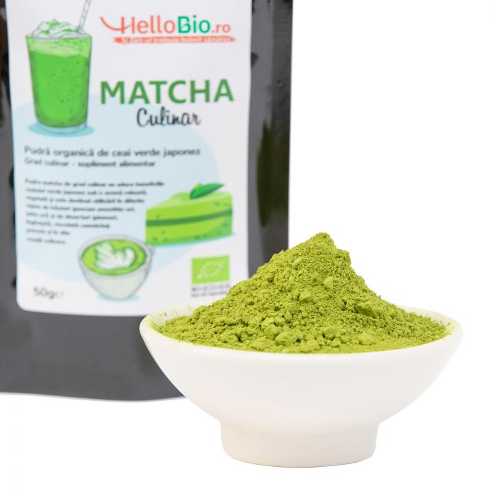 Matcha Bio Culinar - punga 50 g [2]