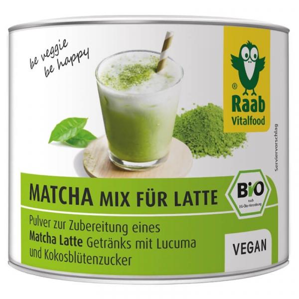 Matcha mix Latte bio 90g RAAB 0