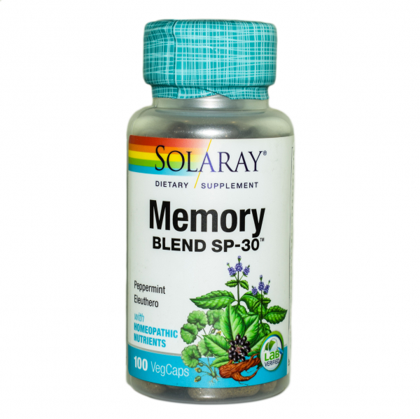 Memory Blend Solaray, 100 capsule, Secom 0