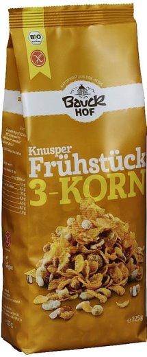Mic dejun crocant cu 3 cereale fara gluten 0