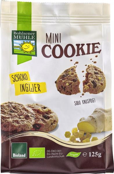 Mini biscuiti vegani bio cu ciocolata si ghimbir [0]