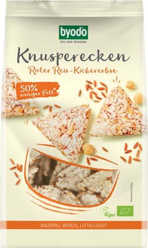 Mini Crackers din orez rosu si naut FARA GLUTEN 0